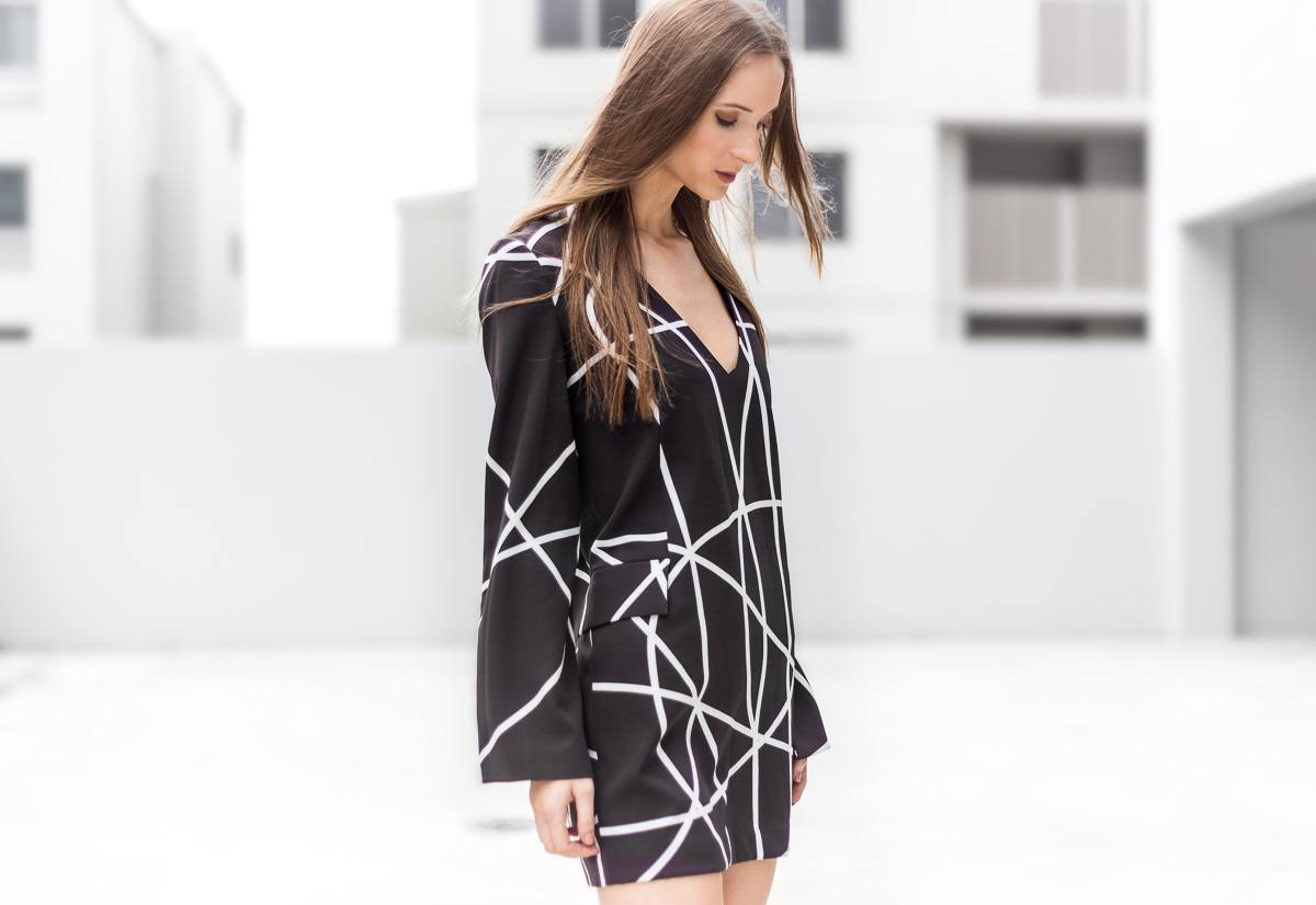 Blessed Are The Meek Check Out Dress