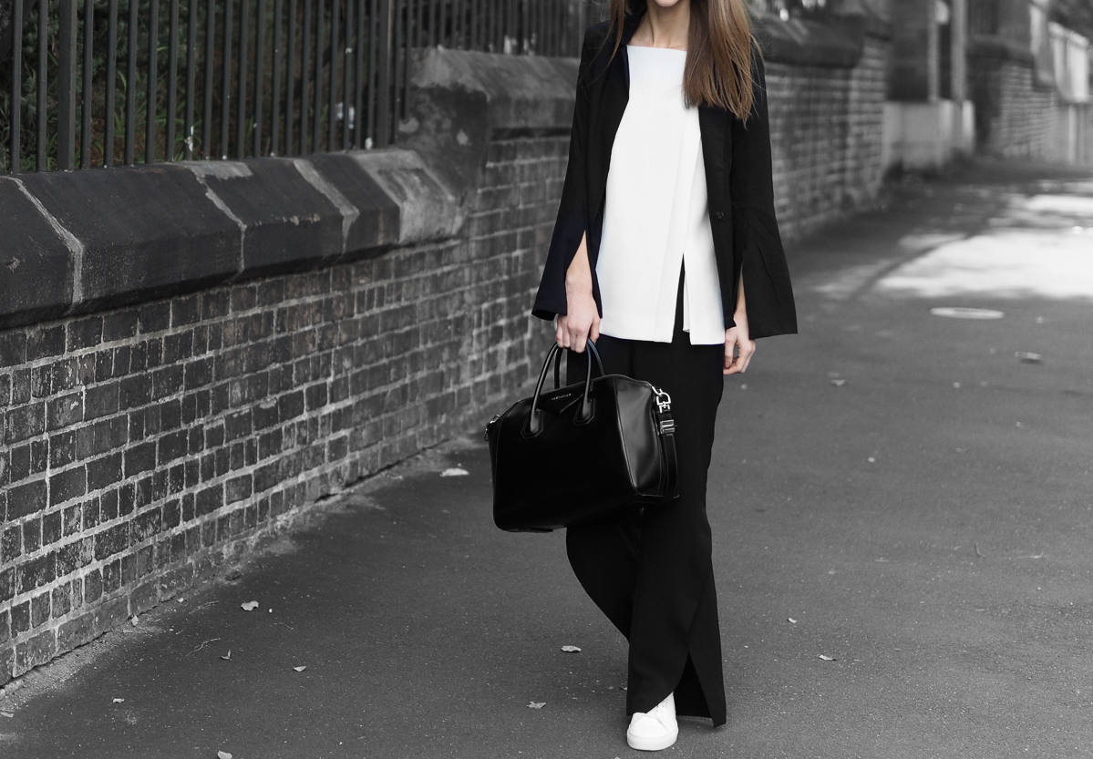 Minimal Monochrome Outfit