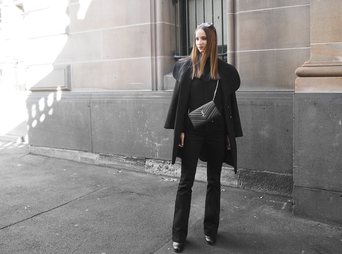 All Black Minimal Outfit