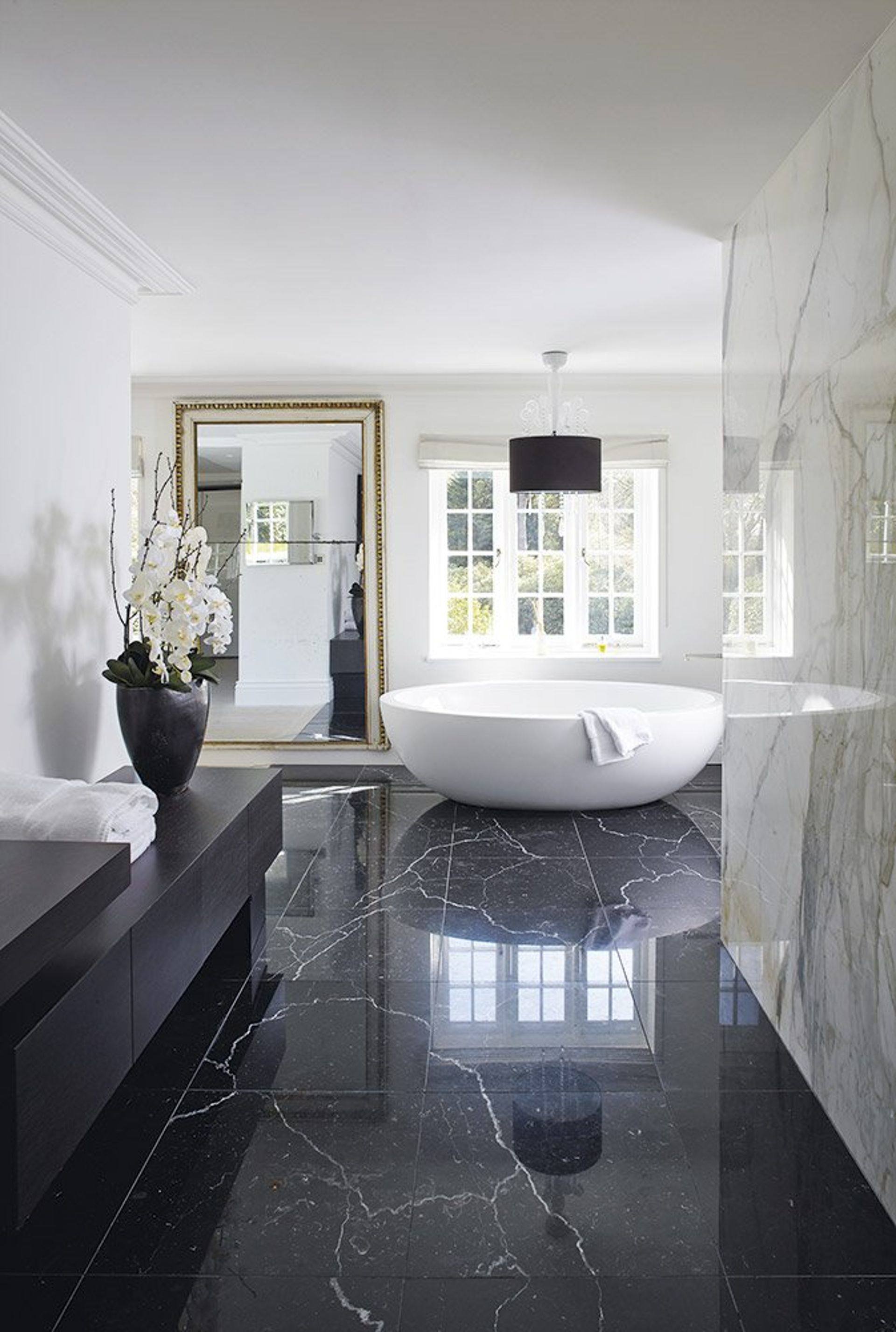 Marble Bathroom Minimal Bathroom