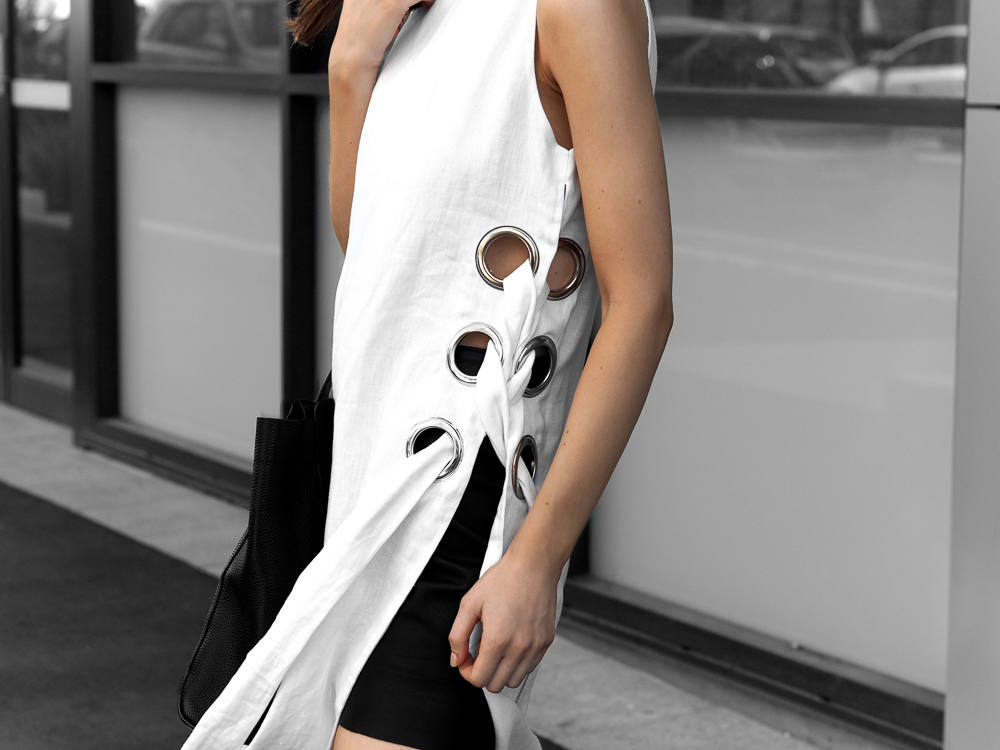 Eyelet detail dress From Luxe With Love