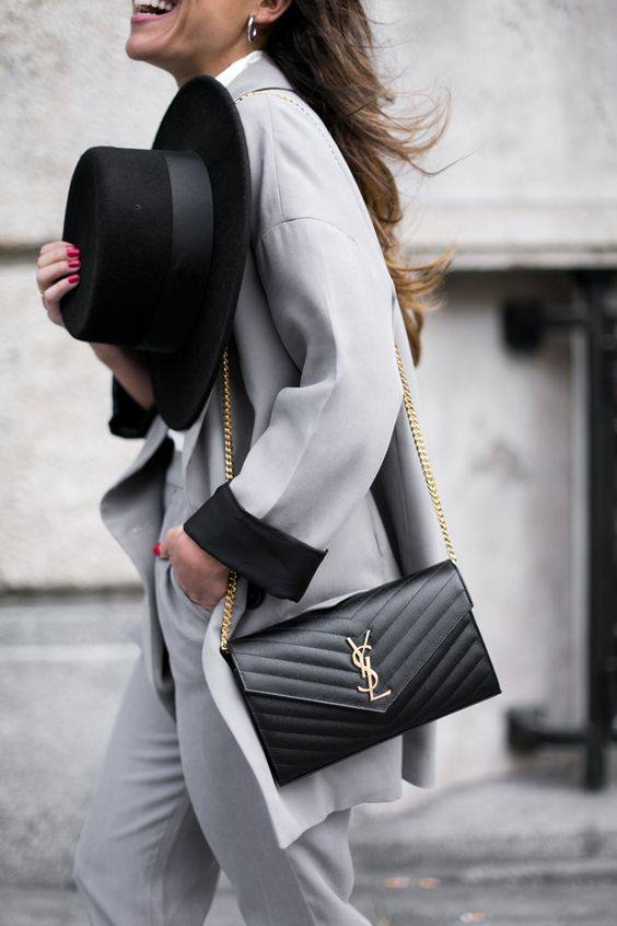 Wardrobe Staple The Black Shoulder Bag From Luxe With Love