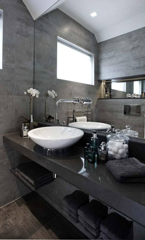 Gray Bathroom Ideas Interior Design ~ Interior goals amazing luxury bathrooms from luxe