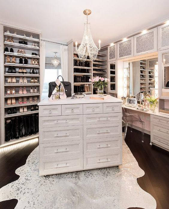 20 dreamy walk in closet ideas from luxe with love - Walk in closet ideas ...